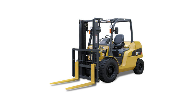 DIESEL POWERED CAT® LIFT TRUCKS: DP40-55NT