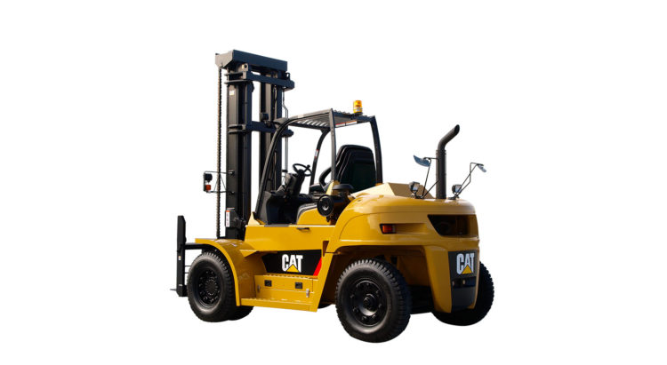 DIESEL POWERED CAT® LIFT TRUCKS: DP100 -150NM1