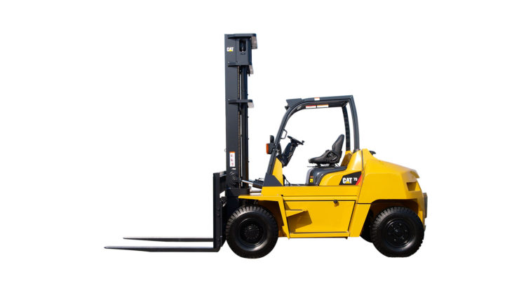 DIESEL POWERED CAT® LIFT TRUCKS: DP60-70NM