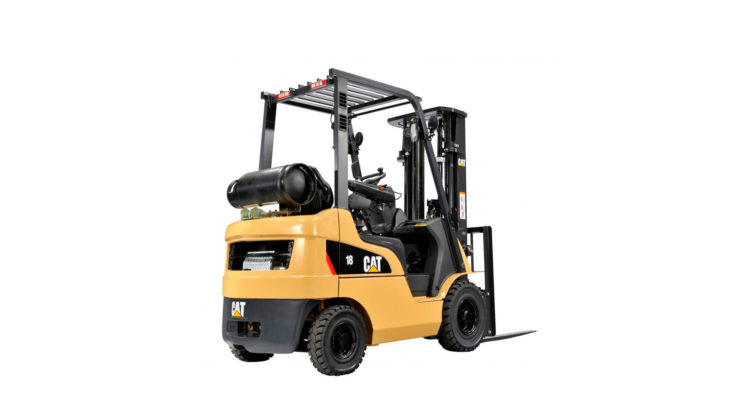 DIESEL POWERED CAT® LIFT TRUCKS: GP15-35NTY
