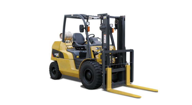 DIESEL POWERED CAT® LIFT TRUCKS: GP40-55NTY