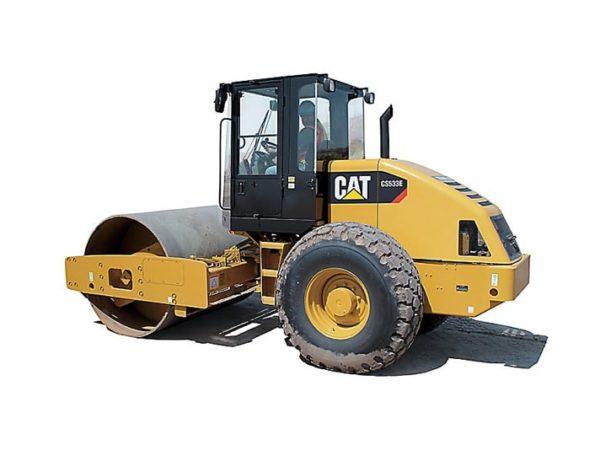 UTE Cat Compactors CS533E
