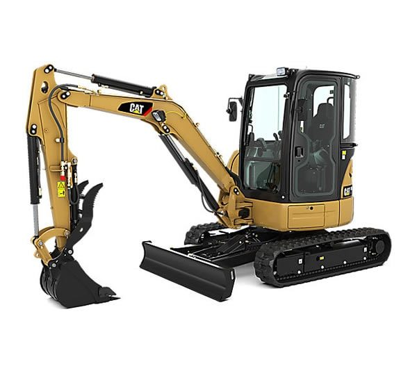 UTE Cat Excavators 303.5E CR