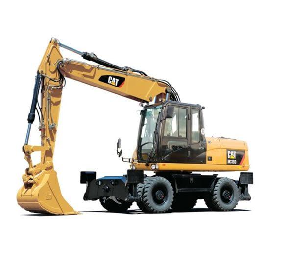 UTE Cat Wheel Excavators M315D2
