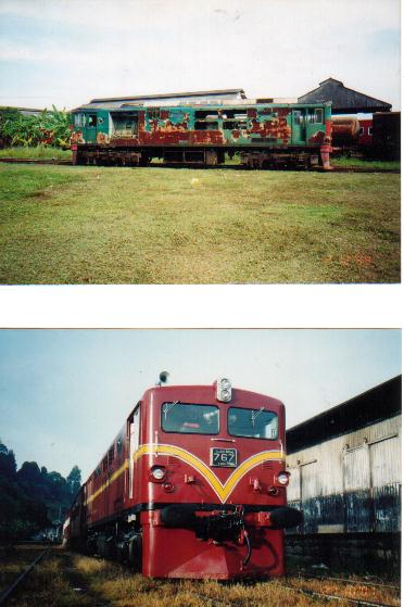 Rail Engines - UTE CAT