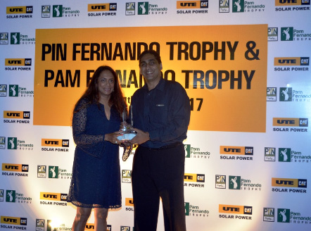 Milinda Ratnayake & Roshani Sangani Top Qualifiers for Pin & Pam Fernando Trophy 2017