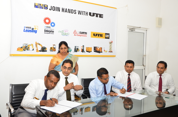 UTE and HNB combine strengths to support Sri Lanka's SME